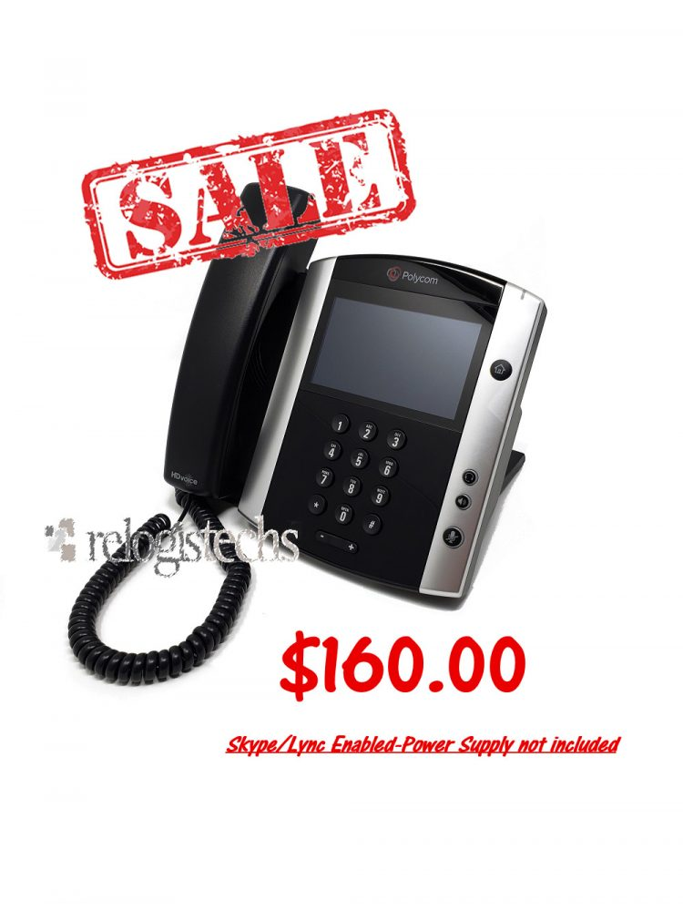 Polycom® VVX® 600 Business Media Phone w/Skype for Business **SALE**
