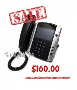 Polycom® VVX® 1500 D Dual Stack Business Media Phone